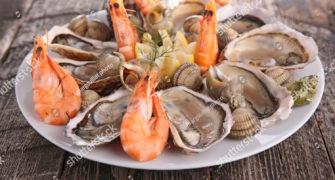 Le marché aux fruits de mer de Reyneville